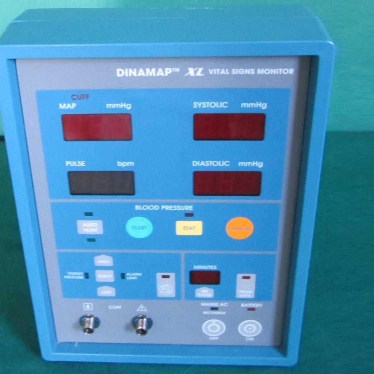 CRITIKON Dinamap XL blood pressure measurement device incl. pulse display, on