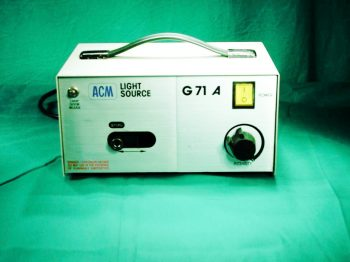 ACM G71A cold-light source, halogen, with adapter for ACMI, Storz and Wolf
