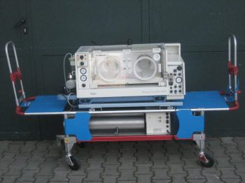 DRÄGER 5400 Transport incubator with Babylog 2000, battery