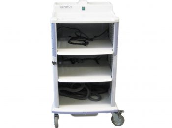 OLYMPUS WM-60 mobile workstation with endoscope holder